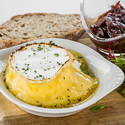 Baked Camembert Cheese Starter