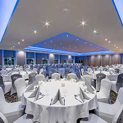 The Function Suite can be hired for larger parties